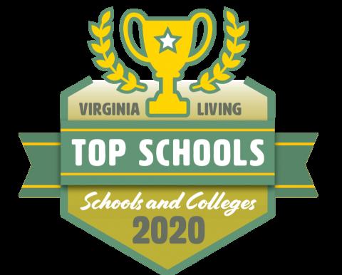 Badge: Virginia Living Top Schools 2020