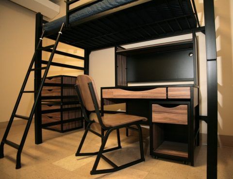 Student bunk and desk